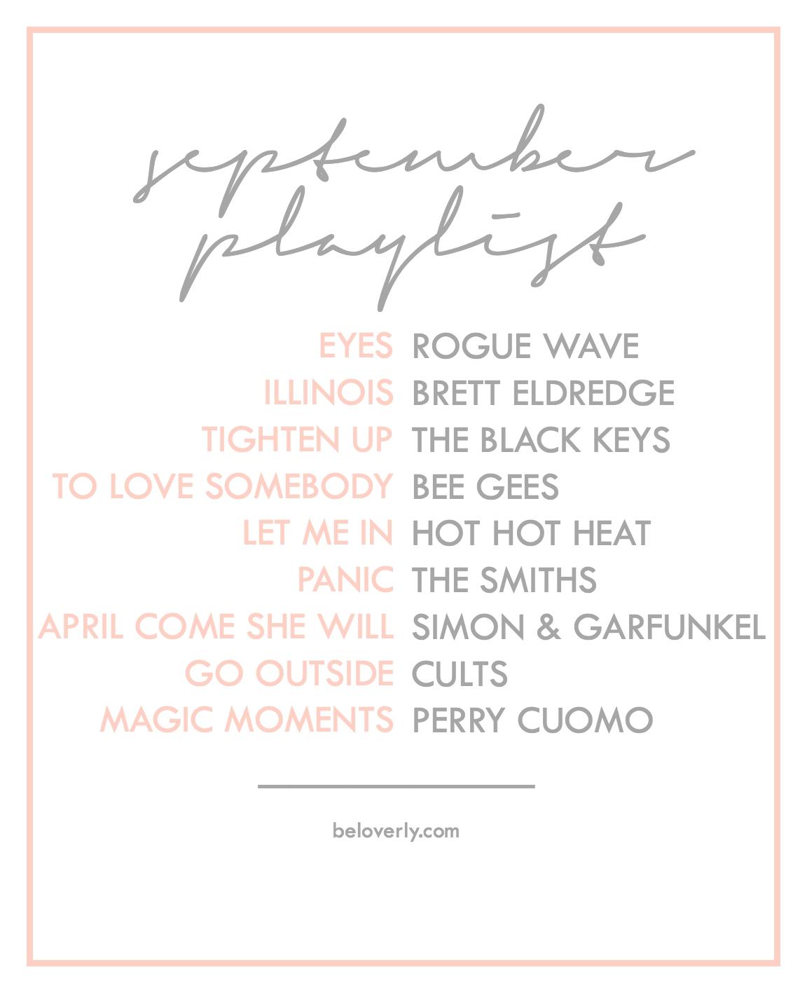 septemberplaylist