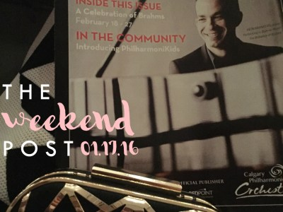 The Weekend Post | 01.17.16