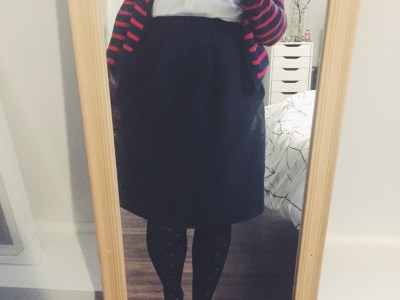 A Month in Outfits | December 2016