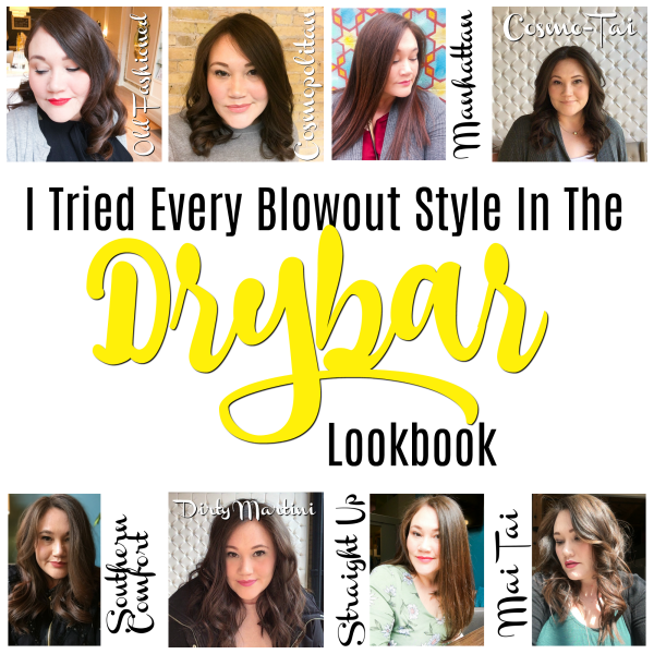I Tried Every Drybar Blowout Style | Below Freezing Beauty