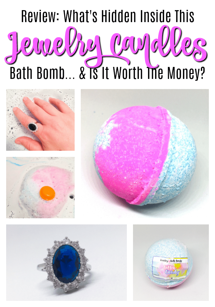 Jewelry Candles Ring Bath Bomb Review | Below Freezing Beauty