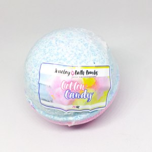 Jewelry Candles Cotton Candy bath bomb | Below Freezing Beauty