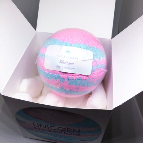 Pearl Bath Bombs Unicorn Ring Bomb | Below Freezing Beauty