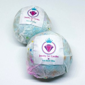 Jewelry Jar Candles Bath Bomb Bling Review | Below Freezing Beauty