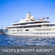Puzzle tile Yachts & Private Aircraft