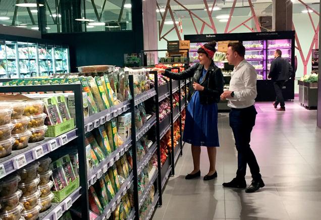 Auchan открыл в Люксембурге «гипермаркет будущего» В новом торгово-развлекательном центре Cloche d'Or
