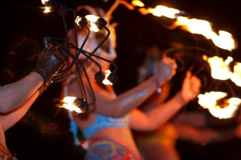 From Fire Dancers... | Copyright Danny Williams for BFS. All rights reserved.
