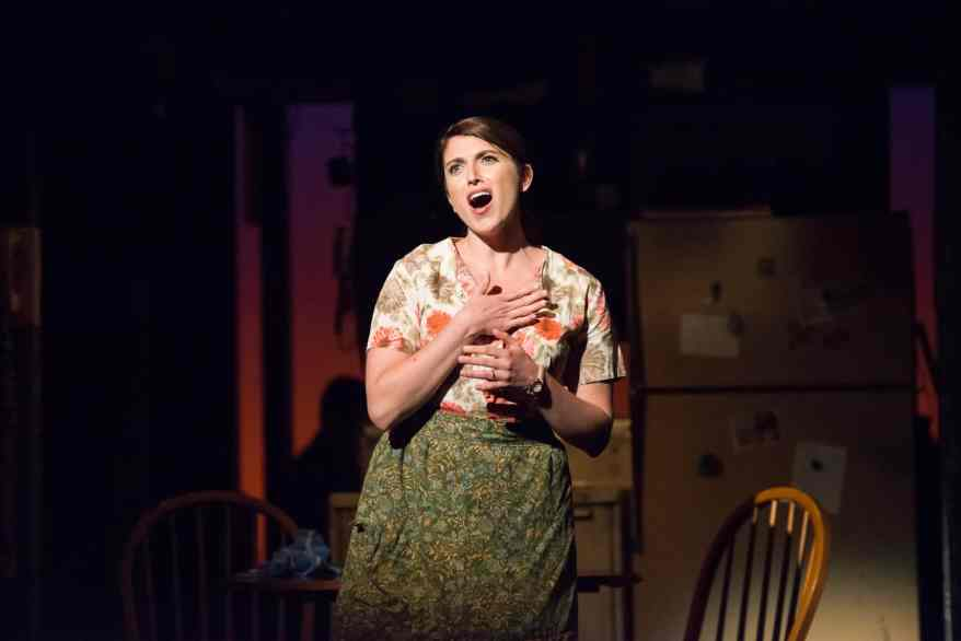 Janine DiVita as Francesca in Theatre Raleigh's produciton of THE BRIDGES OF MADISON COUNTY.