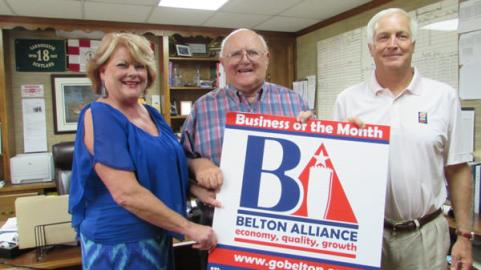 Belton-Alliance-Southern-Burglar-alarm-Business-of-month