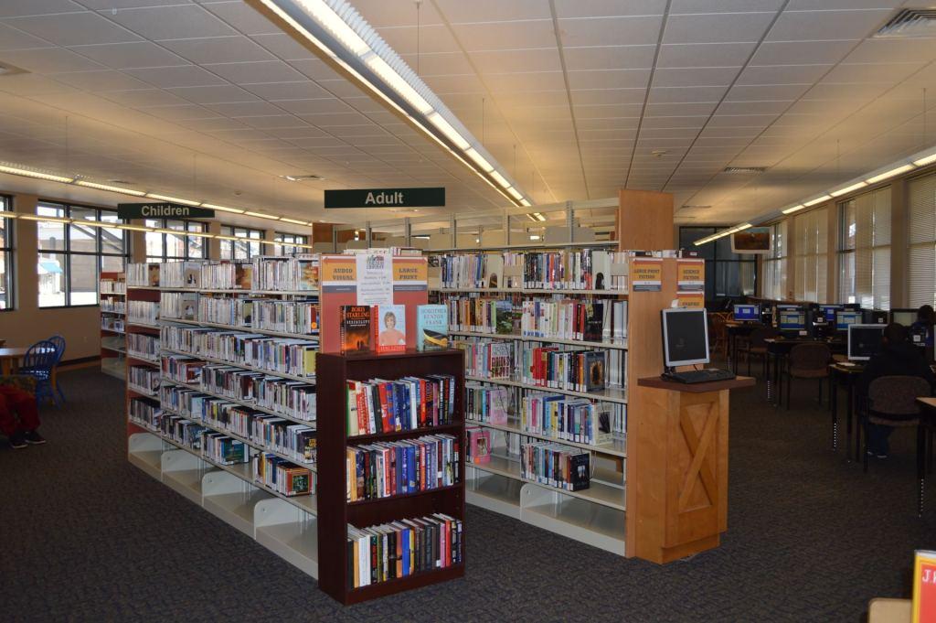 Inside the Belton Library