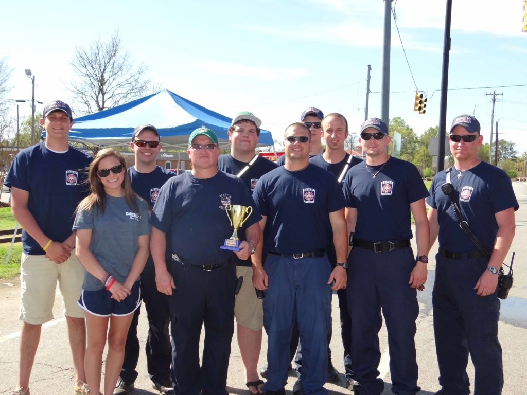 Members of the Belton Fire Department