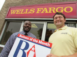pix - Biz of Month Wells Fargo Waller NealJPG