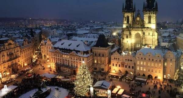 Новый год в Праге 2021 из Минска