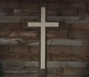 Belvidere First Wood Cross
