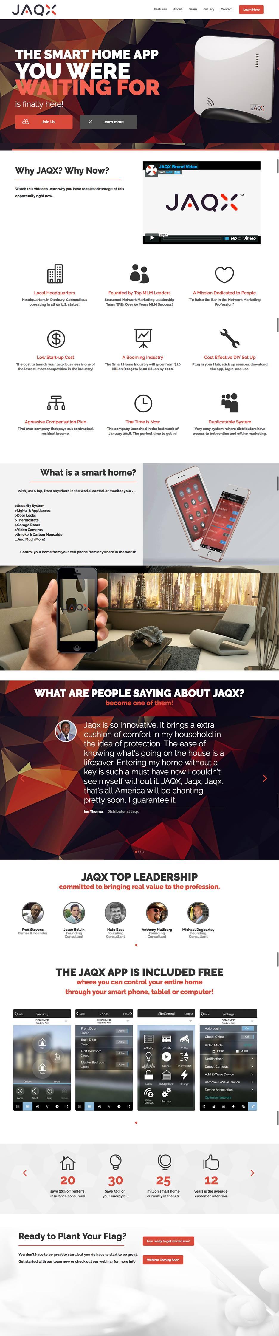 jaqx capture page