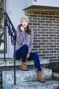 winter, style, must haves, sweater, pom beanie, combat boots, comfy, cozy, warm