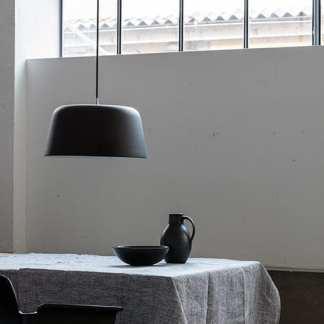 Noir pendel 440 matt Sort | Belysning.online