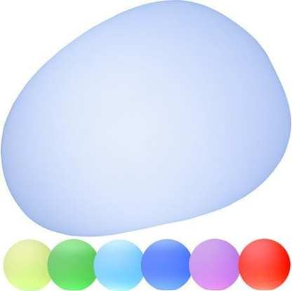 TWILIGHTS UTENDØRS LAMPE RGB M/FJERNKONTROLL OVAL 26,5 CM | Belysning.online