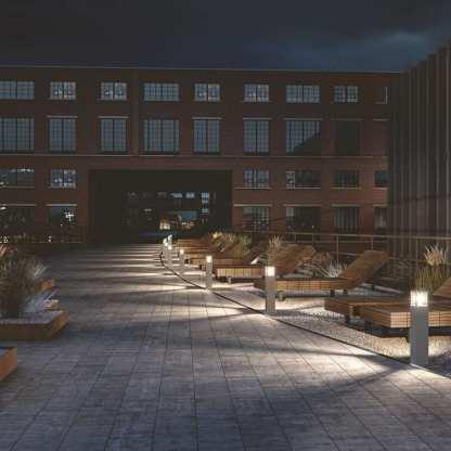 Bore lyspullert mørk grå, IP54 | Belysning.online