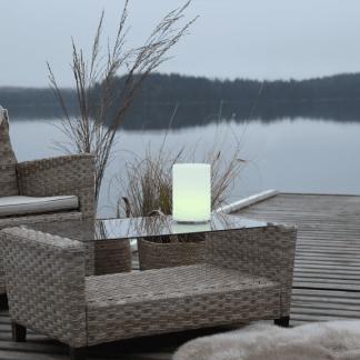 Twilights Utendørsdekorasjon RGB m/Fjerkontroll sylinder 20 Cm | Belysning.online