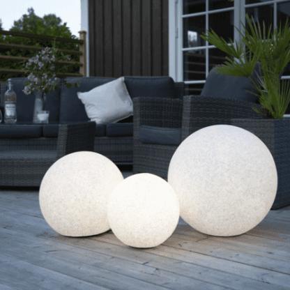 Gardenlight lyskule 50 cm 230V E27   Belysning.online