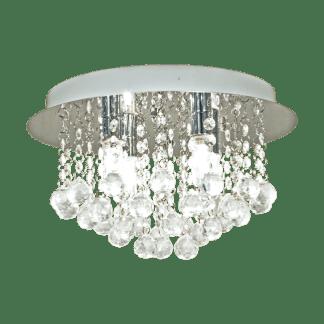 Madelene plafond 4 x 40W G9 Krom | Belysning.online