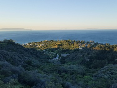 Hiking trails can be near urban environments as well especially in LA