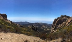 An arduous hiking trail up to Sandstone Peak, the Mishe Mokwa trail is one of the best hiking trails in the LA area