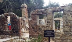 Hiking trails in LA can sometimes lead you to historical sites like the Keller House in Malibu