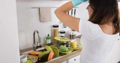 Essa limpeza rápida na cozinha é indicada para se fazer no dia a dia, sendo mais superficial