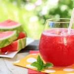 Algumas combinações de suco de melancia, além de saudáveis, são muito saborosas
