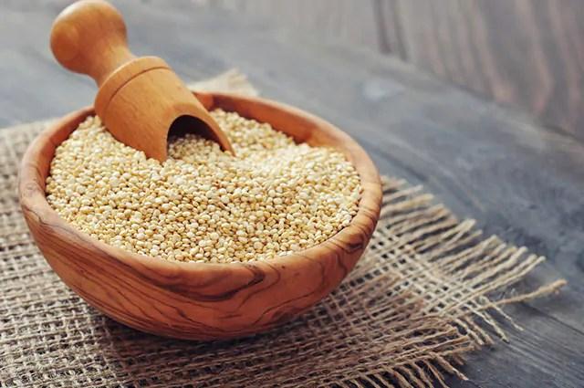 A quinoa é um dos carboidratos bons para sua dieta