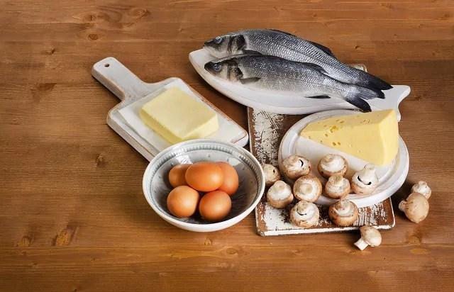 A maioria dos alimentos ricos em vitamina D são de origem animal