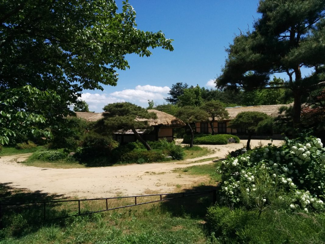 Andong korean folk village