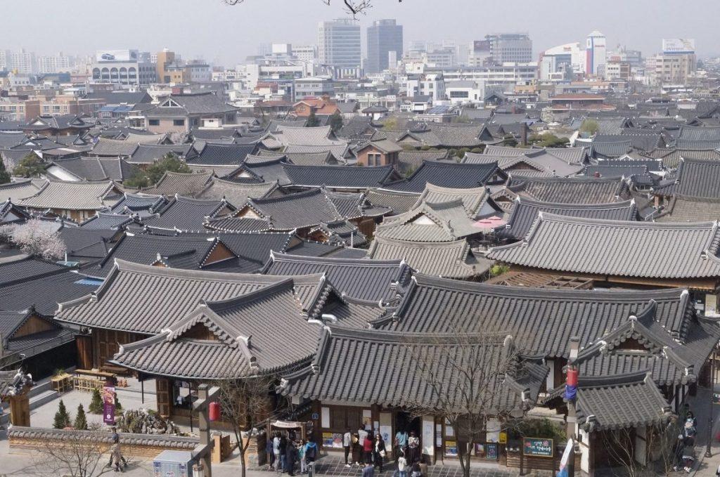 tourist destination in South Korea: Jeonju