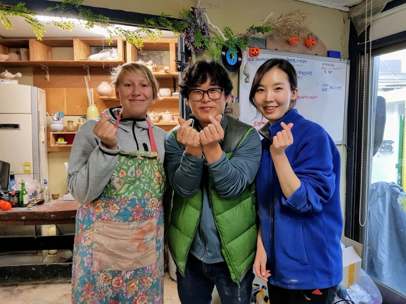 pottery experience in itaewon