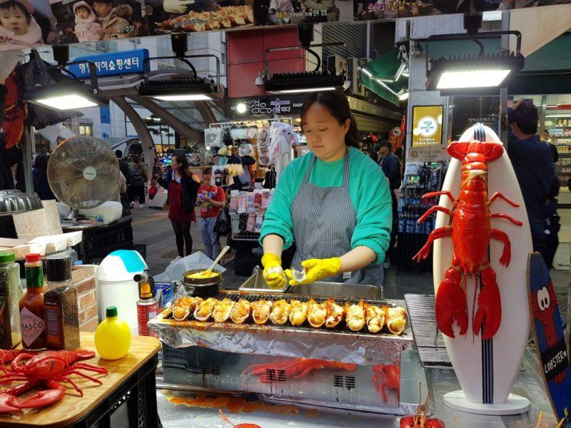 myeongdong street market