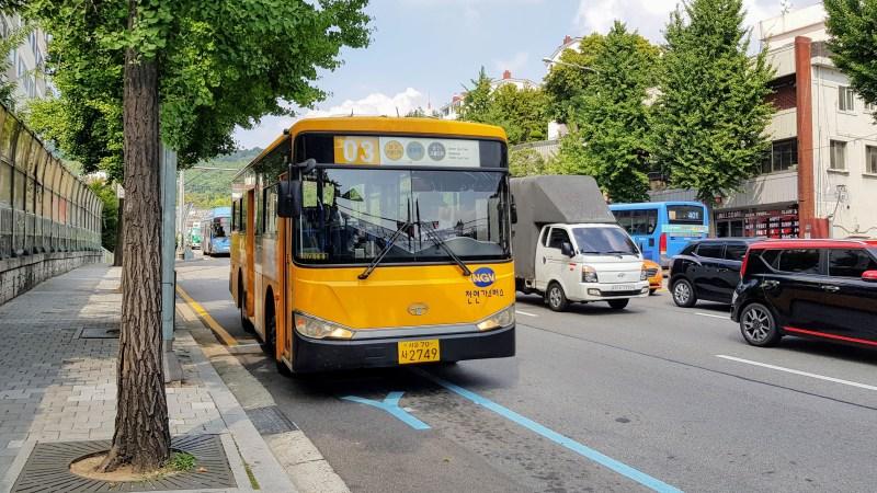 bus to namsan tower