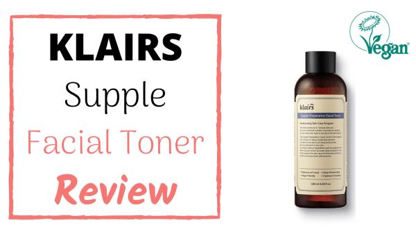 klairs supple preparation facial toner review