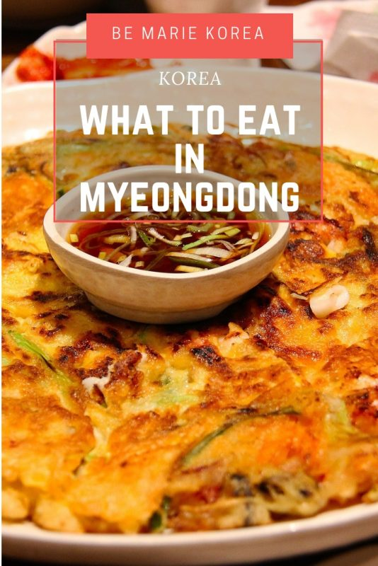 restaurants in myeongdong seoul