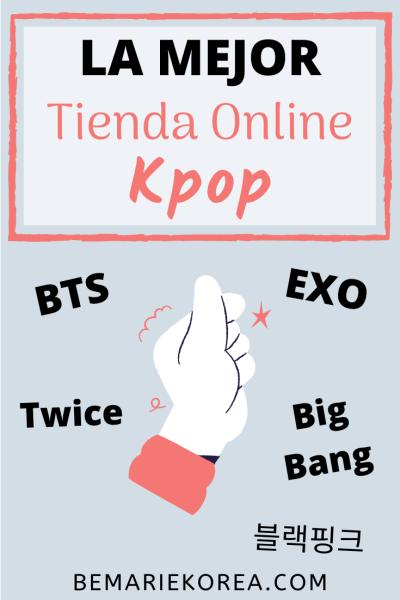tiendas de kpop en línea