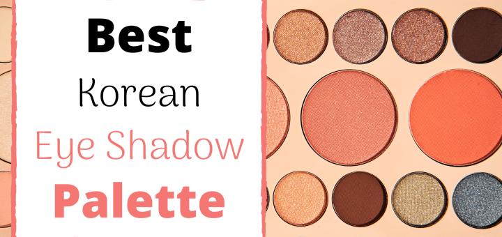 best korean eyeshadow palette