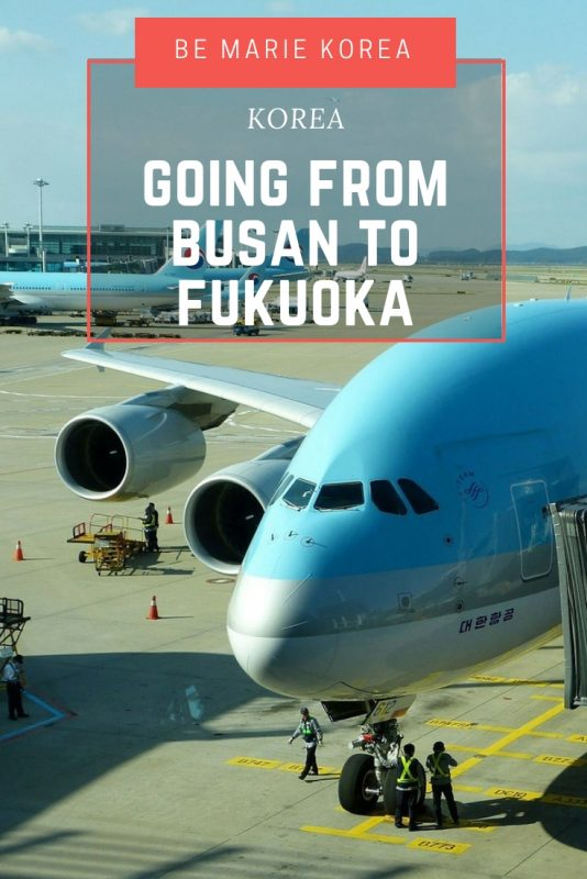 flights from busan to fukuoka