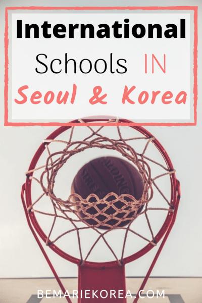 international high school in korea