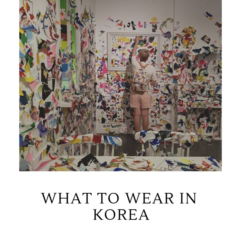 what to wear in korea