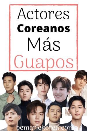 actores coreanos lindos