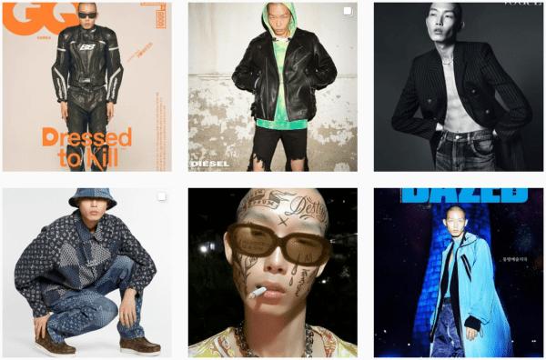south korean models male