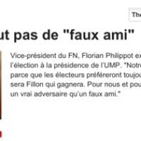 """L' alliance """"Pain au chocolat"""": L'avis du FN Florian Philippot..."""