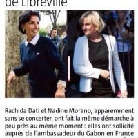 "L'étrange safari des ""africaines de l'UMP"" (Nadine Morano, R. Dati)..."