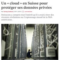 "Ouvrir un compte ""Cloud"" en Suisse: l'exil «data center»..."